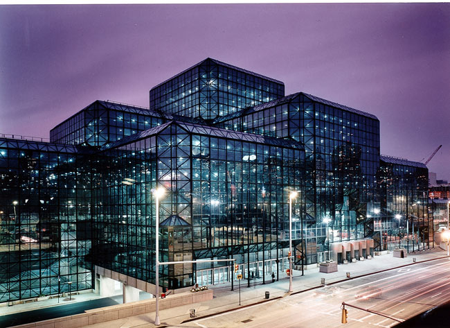 Javitz-Center-at-night-cool-colors