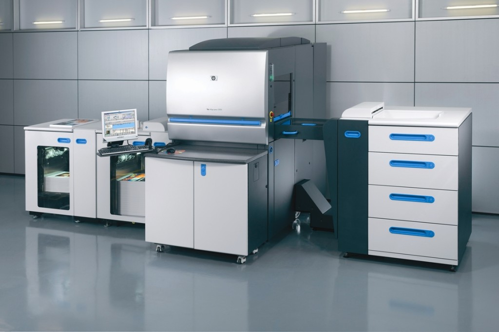 Hp Indigo Printing Press in NYC location