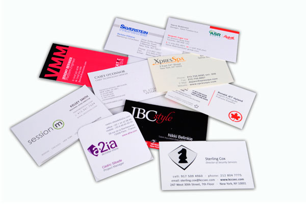 Business card printing rushovernight delivery available in nyc business cards reheart Images